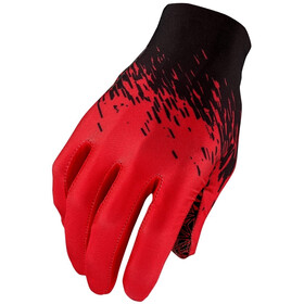 Supacaz SupaG Cykelhandsker lange fingre, black/red